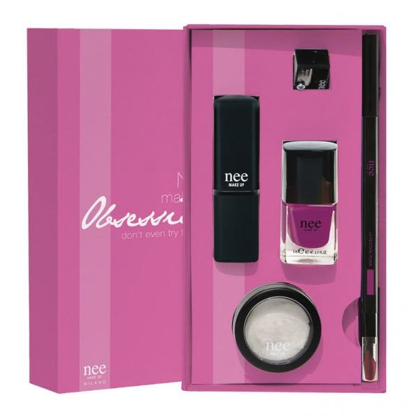 Nee Make Up - Milano - Obsession Kit - Festival Fuxia - Gift Box - Gift Ideas - Professional Make Up