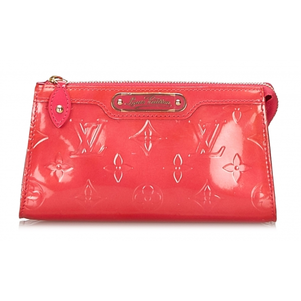 Louis Vuitton Vintage - Vernis Trousse Cosmetic Pouch - Pink - Vernis  Leather and Leather Pouch - Luxury High Quality