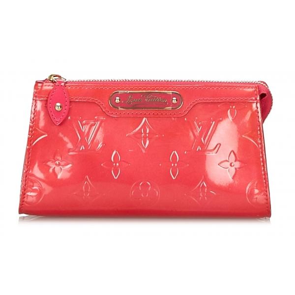 Louis Vuitton Vintage - Vernis Trousse Cosmetic Pouch - Rosa - Pochette in Pelle Vernis e Pelle - Alta Qualità Luxury