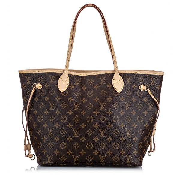 Louis Vuitton Vintage - Monogram Neverfull MM Bag - Marrone - Borsa in Tela Monogramma e Pelle - Alta Qualità Luxury