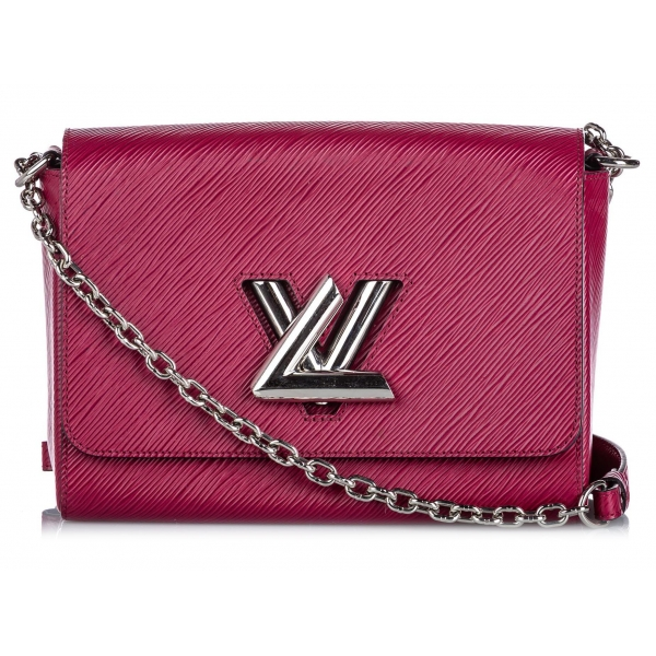 Louis Vuitton Vintage - Epi Twist MM Bag - Rosa - Borsa in Pelle Epi e Pelle - Alta Qualità Luxury