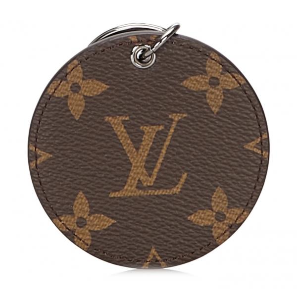 Louis Vuitton Vintage - Monogram Monogram Illustre Logos Bag Charm - Marrone - Portachiavi in Tela - Alta Qualità Luxury
