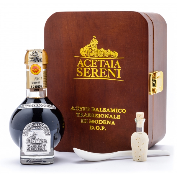 """Acetaia Sereni - Aceto Balsamico Tradizionale di Modena D.O.P. """"Extravecchio"""" - Exclusive Collection"""