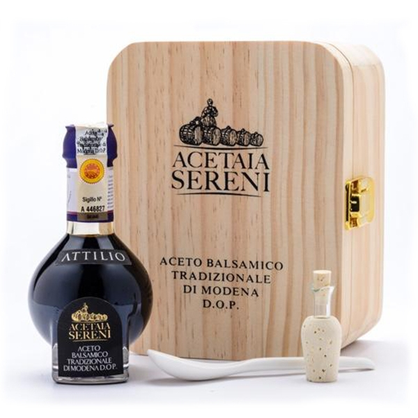 """Acetaia Sereni - Aceto Balsamico Tradizionale di Modena D.O.P. """"Attilio"""" - Special Edition - Exclusive Collection"""