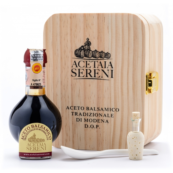 "Acetaia Sereni - Traditional Balsamic Vinegar of Modena D.O.P. ""Affinato"" - Exclusive Collection"