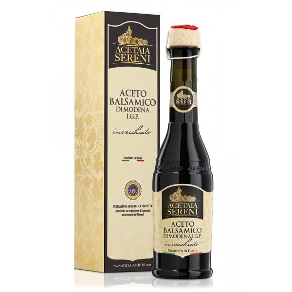 """Acetaia Sereni - Aceto Balsamico di Modena I.G.P. Invecchiato """"Etichetta Bianca"""" - Exclusive Collection"""