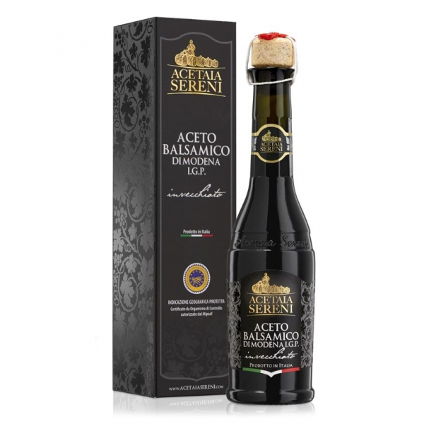 "Acetaia Sereni - Balsamic Vinegar of Modena I.G.P. Aged ""Black Label"" - Exclusive Collection"