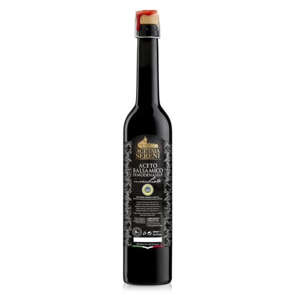 """Acetaia Sereni - Aceto Balsamico di Modena I.G.P. Invecchiato """"Etichetta Nera"""" - Exclusive Collection - 500 ml"""