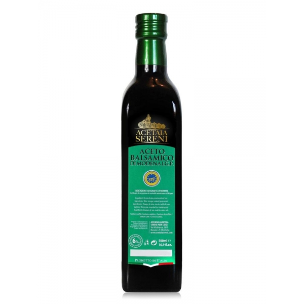 """Acetaia Sereni - Aceto Balsamico di Modena I.G.P. Invecchiato """"Etichetta Verde"""" - Exclusive Collection - 500 ml"""