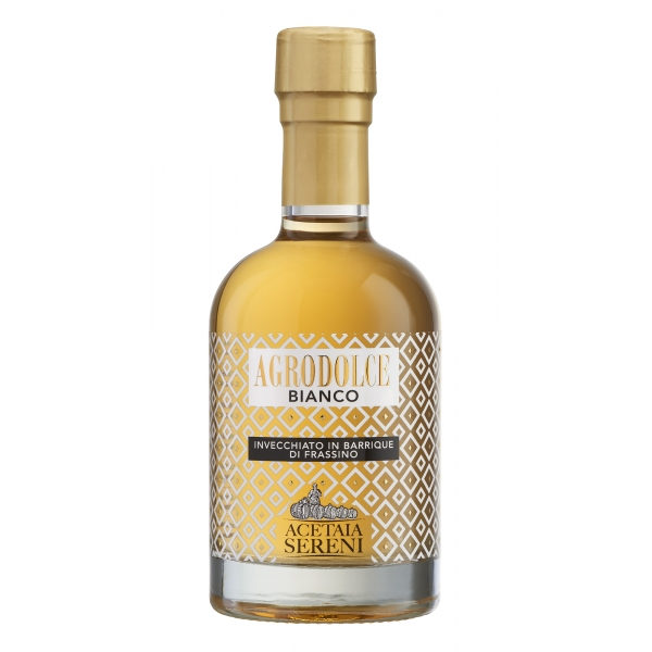 Acetaia Sereni - Bittersweet White - Aged in Ash Barrique - Balsamic Vinegar of Modena - Exclusive Collection