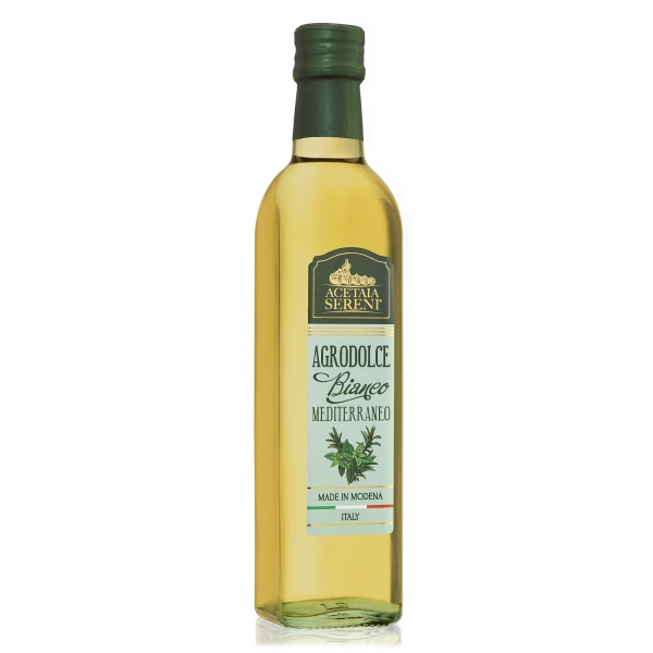 Acetaia Sereni - Bittersweet White - Mediterranean - Balsamic Vinegar of Modena - Exclusive Collection - 500 ml