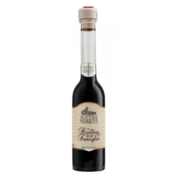 Acetaia Sereni - Condimenti e Innovazioni - Riserva di Famiglia - Aceto Balsamico di Modena - Exclusive Collection - 250 ml