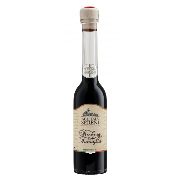 Acetaia Sereni - Condiments and Innovations - Family Reserve - Balsamic Vinegar of Modena - Exclusive Collection - 250 ml