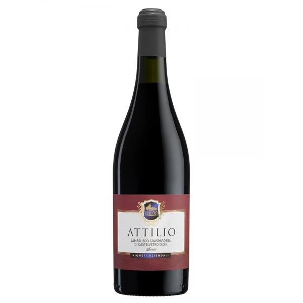 """Acetaia Sereni - """"Attilio"""" - Lambrusco Grasparossa di Castelvetro D.O.P. Secco - Vini Rossi"""