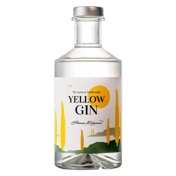Zu Plun - Yellow Gin - Gin - Distillates from The Dolomites - High Quality - Liqueurs and Spirits