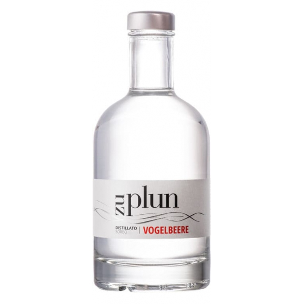 Zu Plun - Rowan Grappa Vogelbeere - Distillates Herbs Grappa from The Dolomites - High Quality - Liqueurs and Spirits