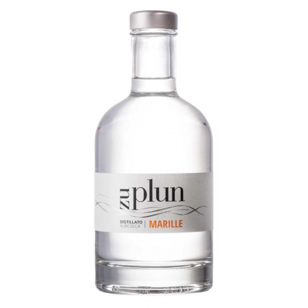 Zu Plun - Apricot Grappa Marille - Distillates Fruit Grappa from The Dolomites - High Quality - Liqueurs and Spirits