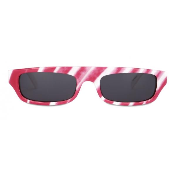 Moschino - Brushstroke Sunglasses - Fuchsia - Moschino Eyewear