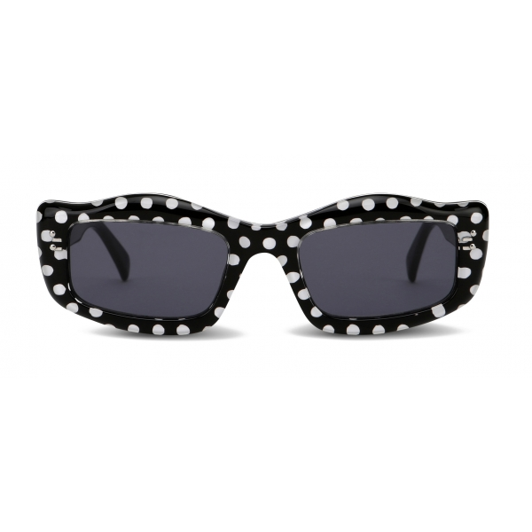Moschino - Sunglasses with Polka Dots - Black - Moschino Eyewear