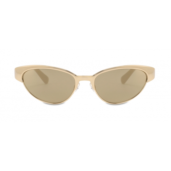 Moschino - Occhiali da Sole Cat-Eye in Metallo - Oro - Moschino Eyewear