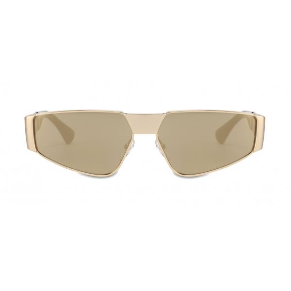 Moschino - Metal Sunglasses - Gold - Moschino Eyewear