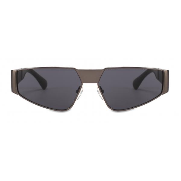 Moschino - Metal Sunglasses - Dark Grey - Moschino Eyewear