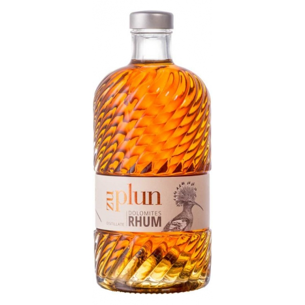 Zu Plun - Rhum Dolomites Unfiltered - Rhum - Distillates from The Dolomites - High Quality - Liqueurs and Spirits