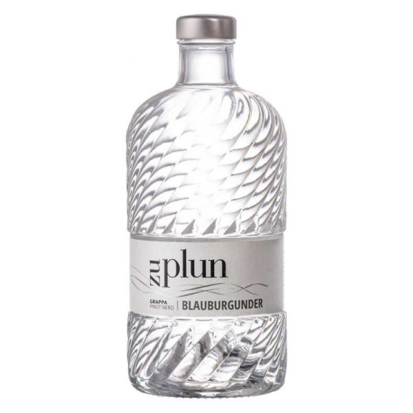 Zu Plun - Grappa Pinot Nero Blauburgurder - Grappa - Distillates from The Dolomites - High Quality - Liqueurs and Spirits