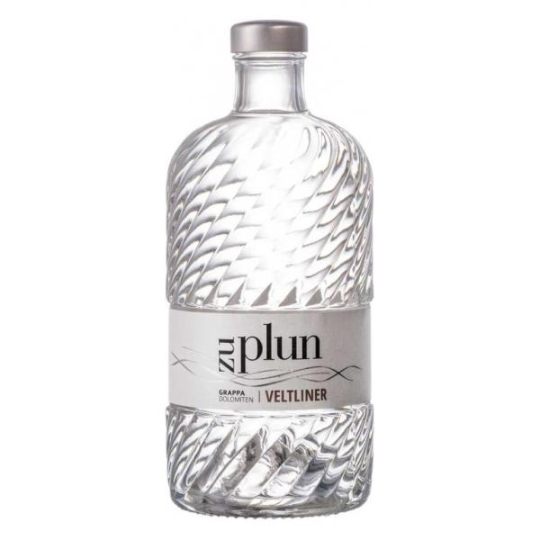Zu Plun - Grappa Veltliner - Grappa - Distillati dalle Dolomiti - Alta Qualità - Liquori e Distillati