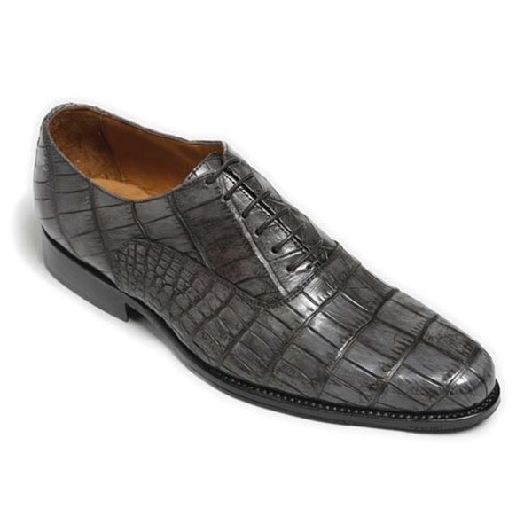 Vittorio Martire - Alonso C. - Grey - Trendy Collection - Crocodile - Italian Handmade Shoes - Luxury Leather