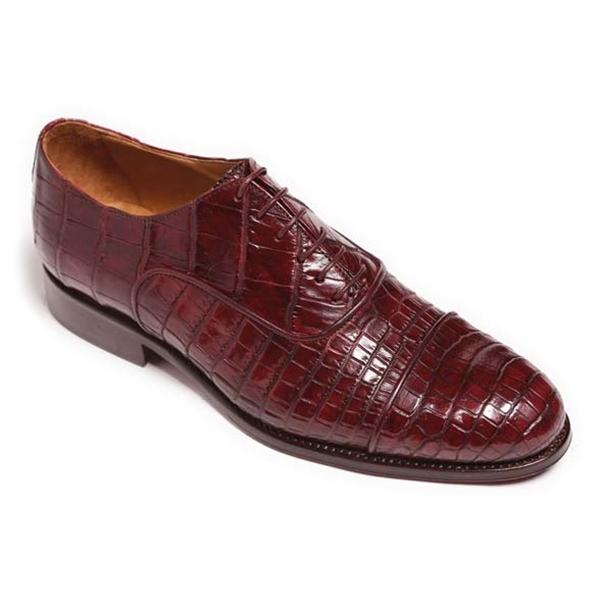 Vittorio Martire - Raffaello - Red - Trendy Collection - Crocodile - Italian Handmade Shoes - Luxury Leather