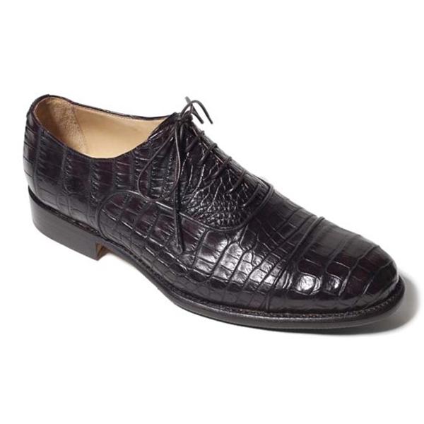 Vittorio Martire - Raffaello - Black - Trendy Collection - Crocodile - Italian Handmade Shoes - Luxury Leather