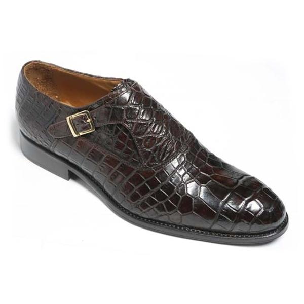 Vittorio Martire - Sofisticato - Brown - Trendy Collection - Crocodile - Italian Handmade Shoes - Luxury Leather