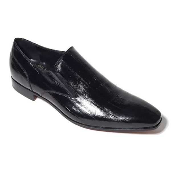 Vittorio Martire - Corrado - Shiny Black - Trendy Collection - Python - Italian Handmade Shoes - Luxury Leather