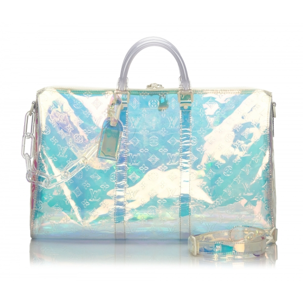 Louis Vuitton Vintage - RGB Keepall Bandouliere 50 - Silver - Plastic and PVC - Luxury High Quality