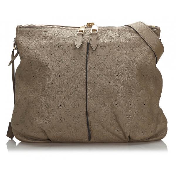 Louis Vuitton Vintage - Mahina Selene MM - Gray - Leather and Calf Handbag - Luxury High Quality