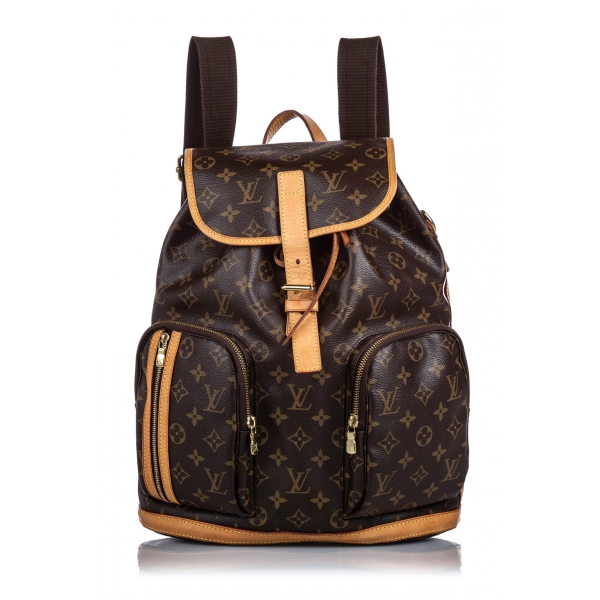 Louis Vuitton Vintage - Monogram Bosphore Backpack - Brown - Canvas and Leather Backpack - Luxury High Quality