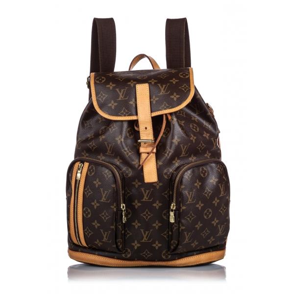 Louis Vuitton Vintage - Monogram Bosphore Backpack - Marrone - Zaino in Tela e Pelle - Alta Qualità Luxury