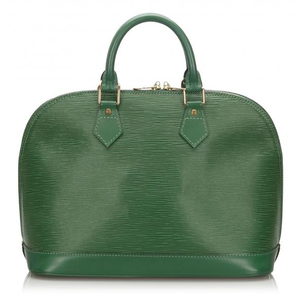 Louis Vuitton Vintage - Epi Alma PM - Green - Leather and Epi Leather Handbag - Luxury High Quality