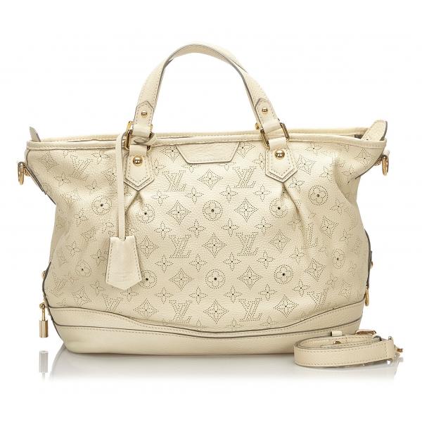 Louis Vuitton Vintage - Mahina Stellar PM - White - Leather Handbag - Luxury High Quality
