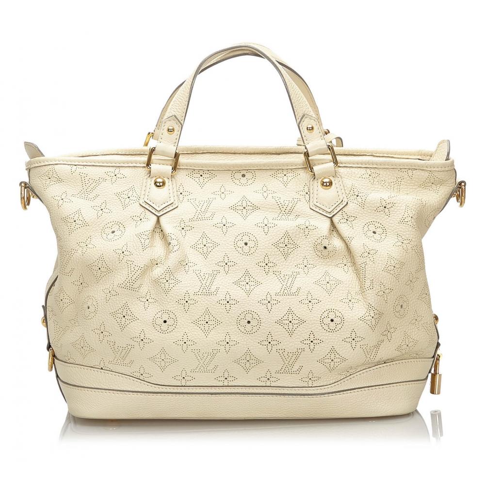 Louis Vuitton Vintage - Mahina Stellar PM - Bianco - Borsa ...