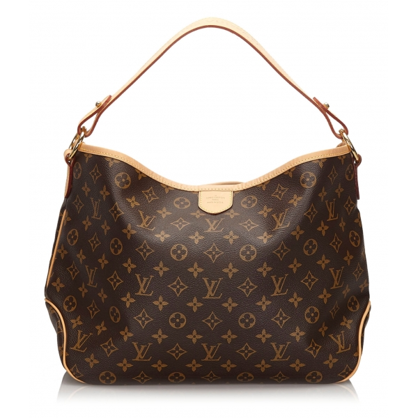 Louis Vuitton Vintage - Monogram Delightful PM - Brown - Canvas and Leather Handbag - Luxury High Quality