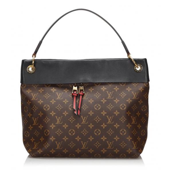 Louis Vuitton Vintage - Monogram Tuileries Hobo - Brown - Canvas and Leather Handbag - Luxury High Quality