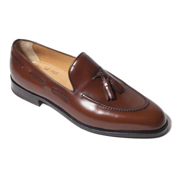 Vittorio Martire - Maurizio - Brown - Classic Collection - Artisan - Italian Handmade Shoes - Luxury Leather