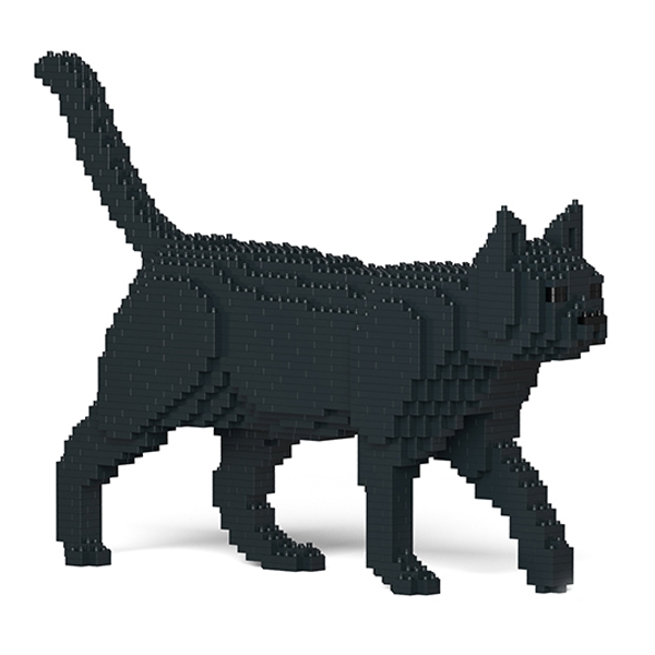 Jekca - American Shorthair - Cat - 07S-M02 - Lego - Sculpture - Construction - 4D - Brick Animals - Toys