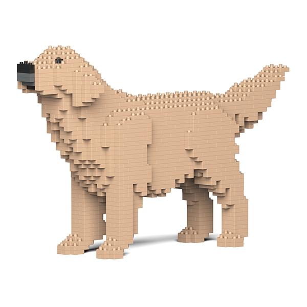 Jekca - Bulldog Francese - Cane - ST19FB04-M04 - Lego - Scultura - Costruzione - 4D - Animali di Mattoncini - Toys