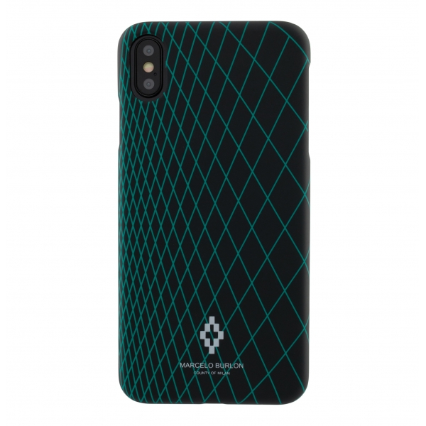 Marcelo Burlon - Cover Grid - iPhone 11 Pro Max - Apple - County of Milan - Cover Stampata