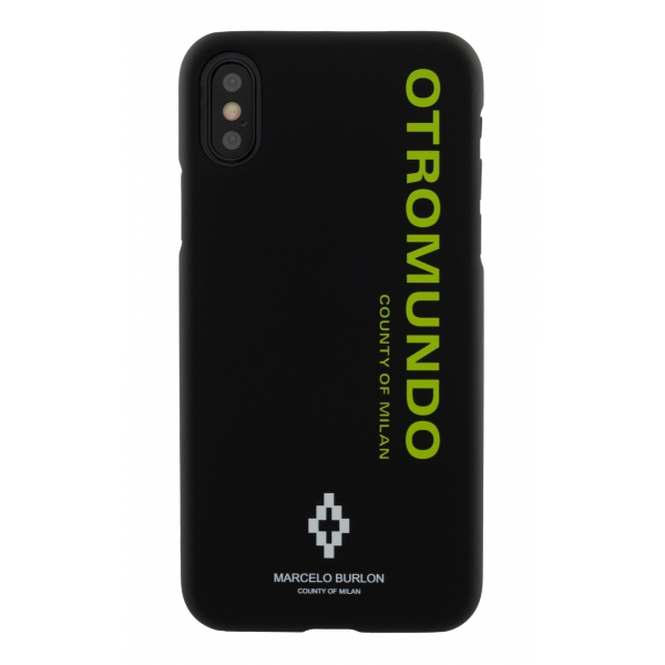 Marcelo Burlon - Cover Otromundo - iPhone 11 - Apple - County of Milan - Cover Stampata