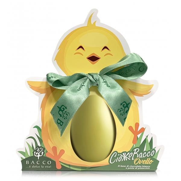 Bacco - Tipicità al Pistacchio - CiokkoBacco Little Pistachio Egg - Pistachio Chocolate - Artisan Egg - 300 g