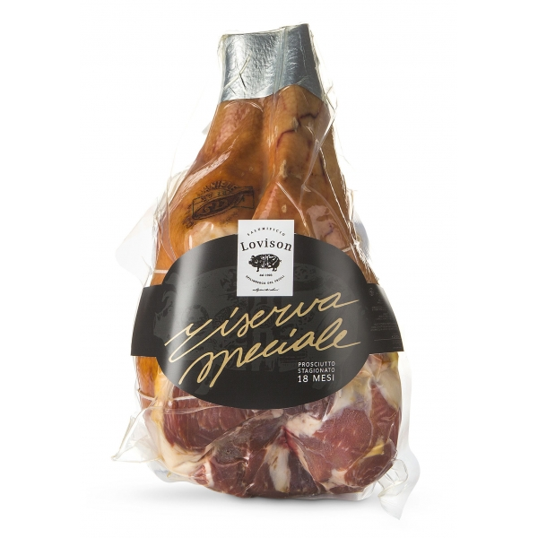 Salumificio Lovison - Raw Ham D.O.P. San Daniele - Without Bone - Artisan Cured Meat - Special Reserve Lovison - 6000 g